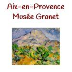 Au Musée Granet
