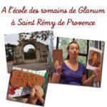 A l'école des Romains à Glanum