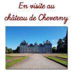 En visite au château de Cheverny
