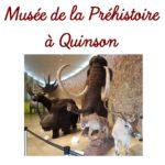 A la découverte du Musée de la Préhistoire à Quinson